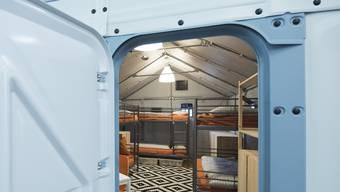 IKEA-Häuser für Flüchtlinge