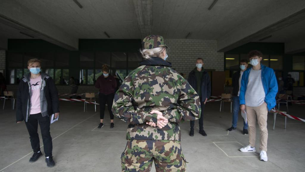 38 Armeeangehörige sind positiv auf Corona getestet worden