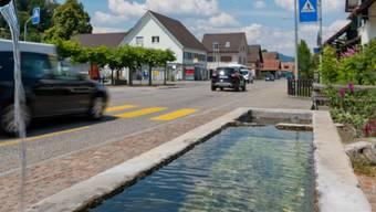 Mit der Sanierung soll die Ortsdurchfahrt von Schafisheim mit verschiedenen Massnahmen aufgewertet werden.