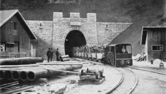 Der Bau und die Eröffnung des Weissensteintunnels