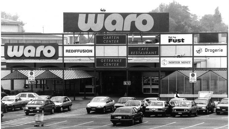 So fing es an: Das erste Einkaufszentrum im Gäu, die 1972 eröffnete «Waro» der Usego-Gruppe.