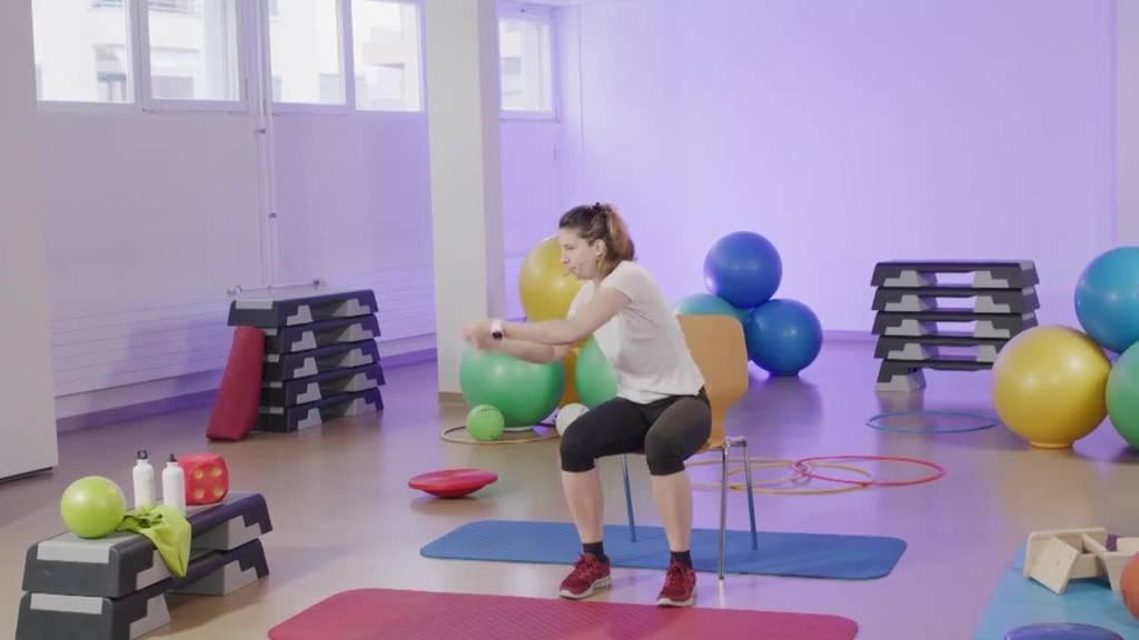 «Gymnastik im Wohnzimmer» vom 8. April 2021