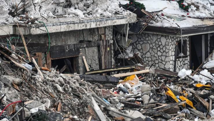 Verschüttetes Vier-Sterne-Hotel Rigopiano in Pescara: Insgesamt 40 Personen hielten sich während dem Lawinenunglück im Hotel auf. Elf Menschen überlebten das Unglück. (Archiv)
