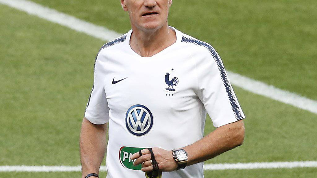 Der französische Nationalcoach Didier Deschamps ist in Russland gefordert