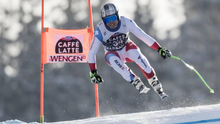 Ralph Weber auf dem Weg zu Rang 10 in Wenge.