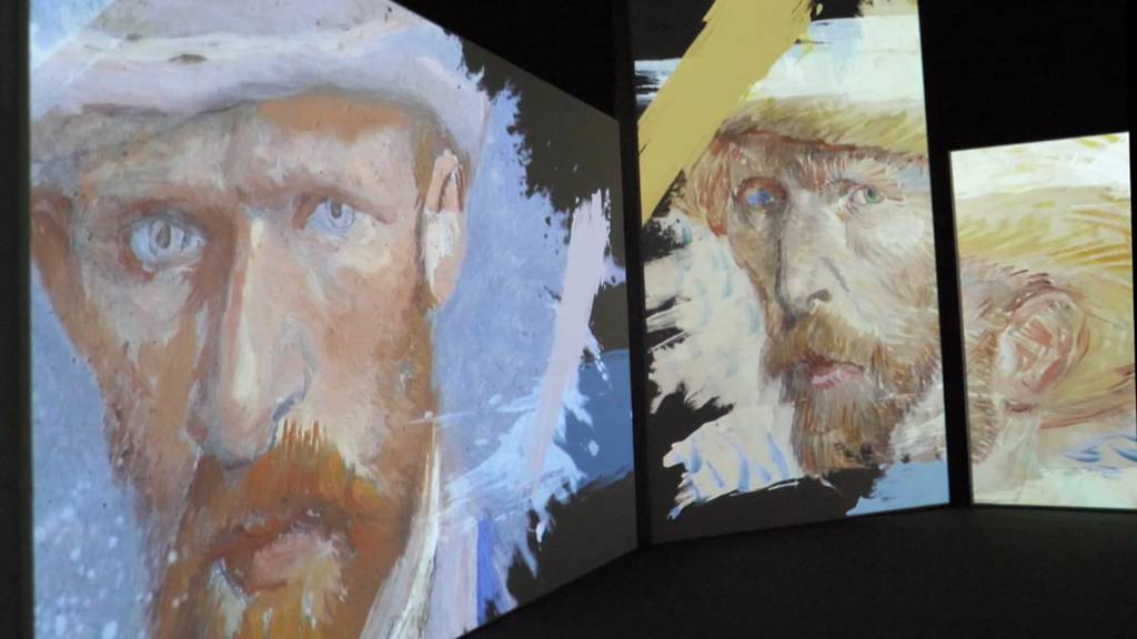 """""""Van Gogh Alive"""" in der MAAG Halle Zürich"""