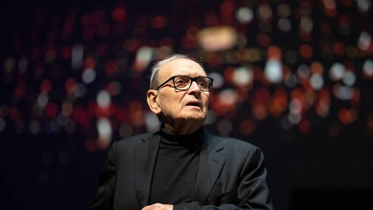 """6. Juli: Film-Komponist Ennio Morricone (""""Spiel mir das Lied vom Tod"""") ist 91-jährig verstorben."""