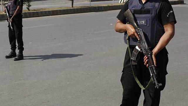 Pakistanischer Polizist