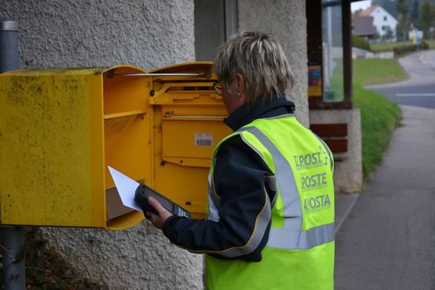 Auch die Briefkästen müssen geleert werden. Auch wenn sie meist, dem Hausservice geschuldet, leer sind.