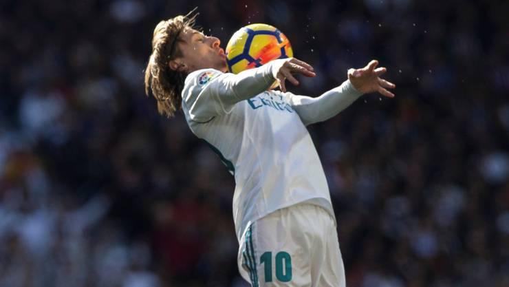 Luka Modric will seinen guten Willen zeigen