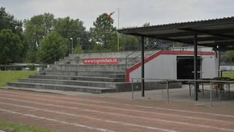 Das heutige Stadion aus dem Jahr 1940 ist baufällig.