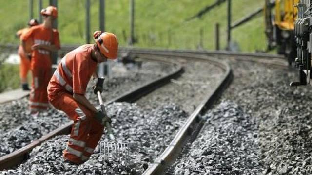 Die Bahnstrecke Bern-Freiburg ist unterbrochen (Symbolbild)