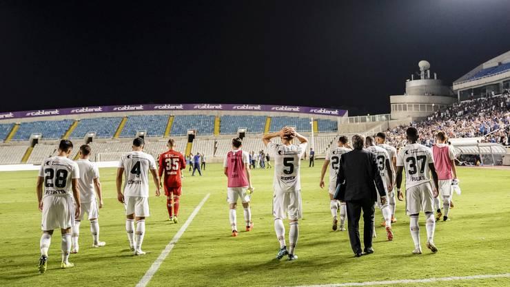 Das GSP-Stadion kennt der FCB bereits vom Duell gegen Limassol am 30. August 2018. Dieses Mal soll der Ausgang ein anderer sein.