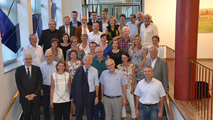 Die Solothurner Delegation bestand aus elf Gemeinderätinnen und Gemeinderäten sowie sieben Mitarbeitenden der Verwaltung. Angeführt wurde sie von Stadtpräsident Kurt Fluri.