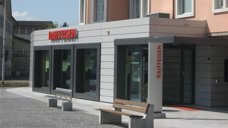 Die Raiffeisenbank Villmergen hat neue Räumlichkeiten in Dottikon erworben.