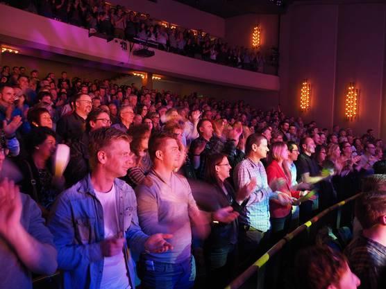 Standing Ovations für einen begnadeten Magier spendete das Badener Publikum im Kurtheater
