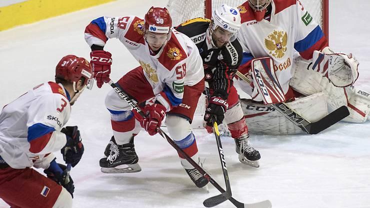 Die russische Auswahl war einmal mehr zu stark für die Schweizer Nationalmannschaft (Archivbild)