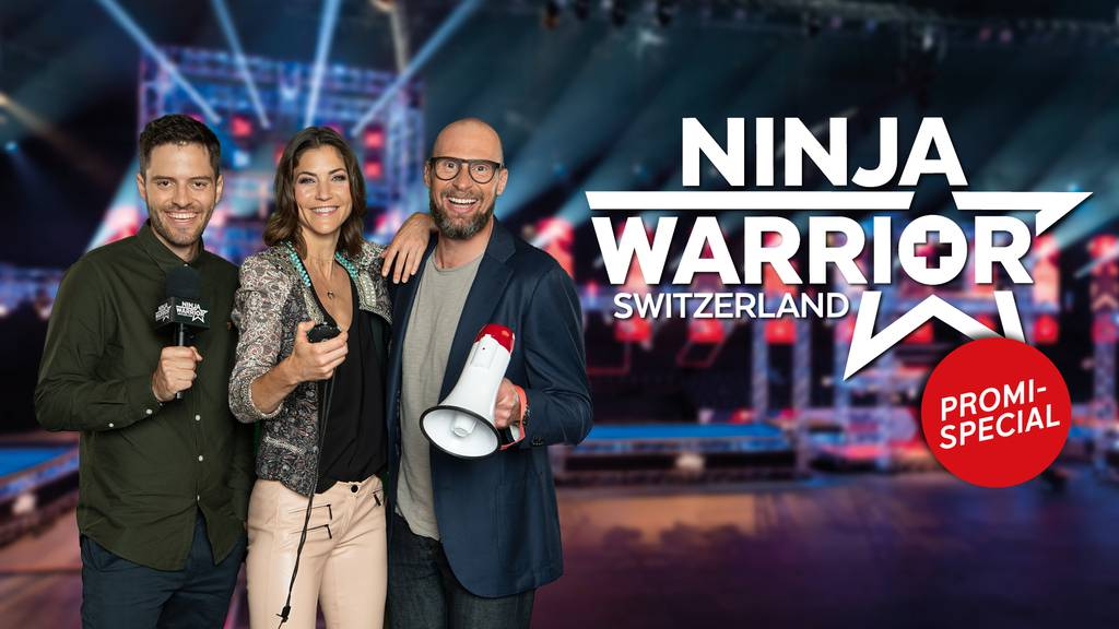 Ninja Warrior Switzerland: Promi-Charity-Special / Teil 5