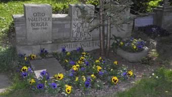 Das Familiengrab Walther: Hier ist der edle Spender in der Nähe seiner Liebsten begraben.