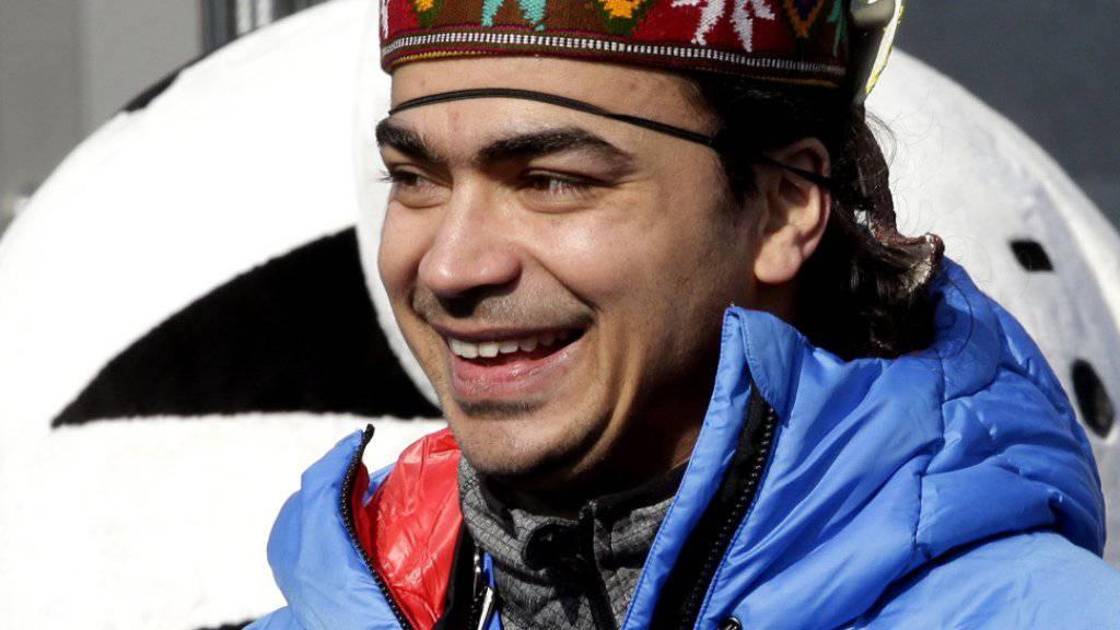 Der Inder Shiva Keshavan nimmt seine sechsten Olympischen Spiele in Angriff