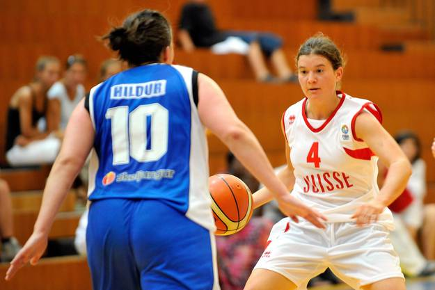 Basketball: Cinzia Tomezzoli (Zürich), Eva Ruga (Choëx VS), Tamara Detraz (Lausanne), Belinda Mensah (Riehen).
