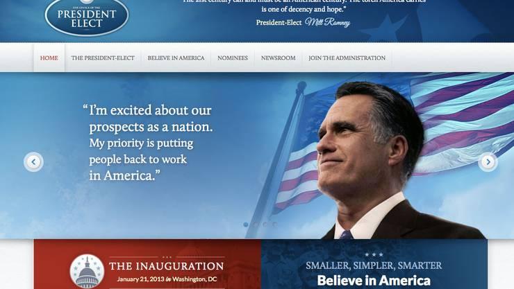 Der Betreiber von «Political Wire» konnte diesen Screenshot der Website machen.