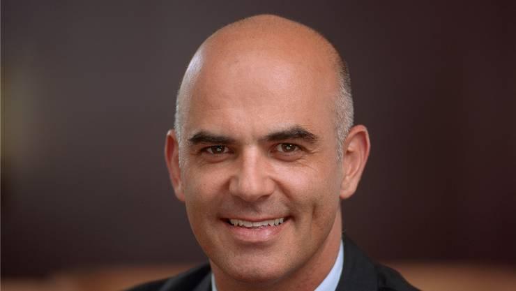 Dieser lächelnde Herr war bei vielen Schweizerinnen und Schweizerin in der Post: Bundesrat Alain Berset.