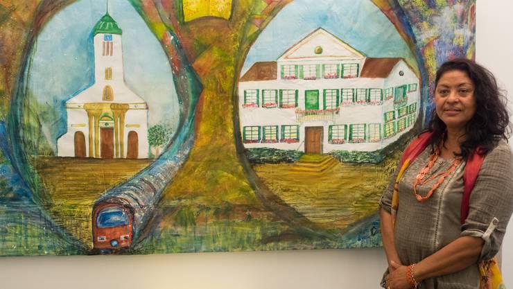Consuelo Pfister Dias: Hommage an ihre Wohngemeinde.