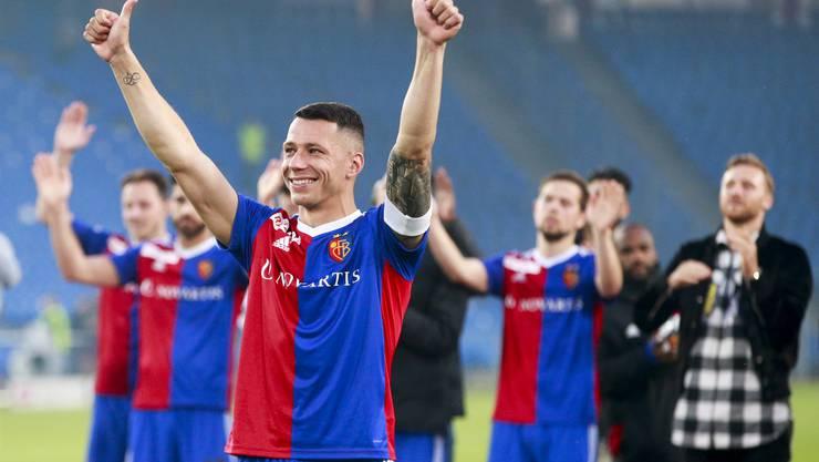 Verdient darf der FC Basel drei Punkte einfahren und sich mit einem 4:1-Sieg in die Sommerpause verabschieden.