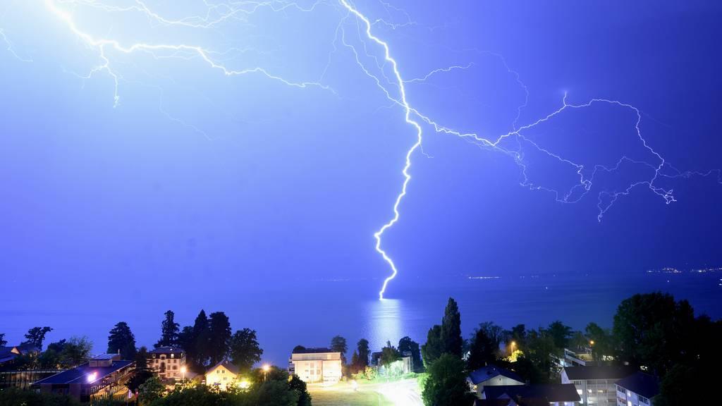 Jetzt kommen erste Gewitter, am Abend folgen Regen und Hagel