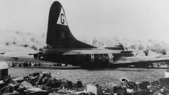 Vor 70 Jahren stürzte in Birsek ein amerikanischer B-17-Bomber