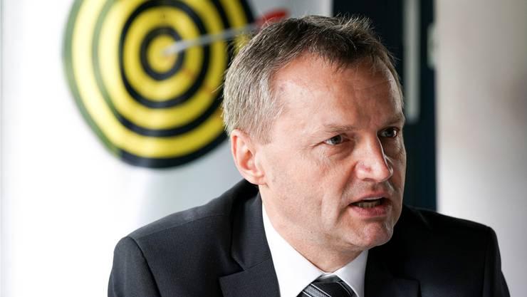 BDP-Nationalrat Bernhard Guhl ist selber begeisterter Imker. Claudio Thoma