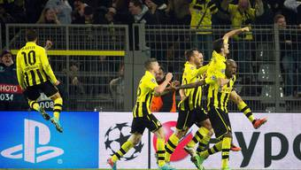 Borussioa Dortmund siegt gegen Malaga CF