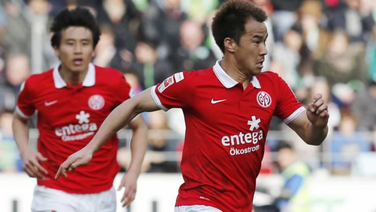 Stürmt in der kommenden Saison für Leicester City statt für Mainz: Shinji Okazaki