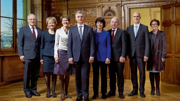 Das Bundesratsbild (Bild: Bundeskanzlei/D. Büttner/ B. Devenes)