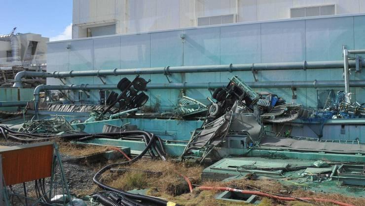 Die Bilder schockieren: Zerstörung und hohe Strahlungen in Fukushima