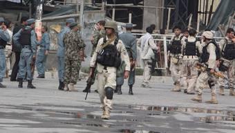 Operation beendet, die Sicherheitskräfte in Kabul haben die Lage wieder unter Kontrolle