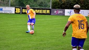 Ian Schläppi ist auch diese Saison gesetzt in Grenchens Innenverteidigung.