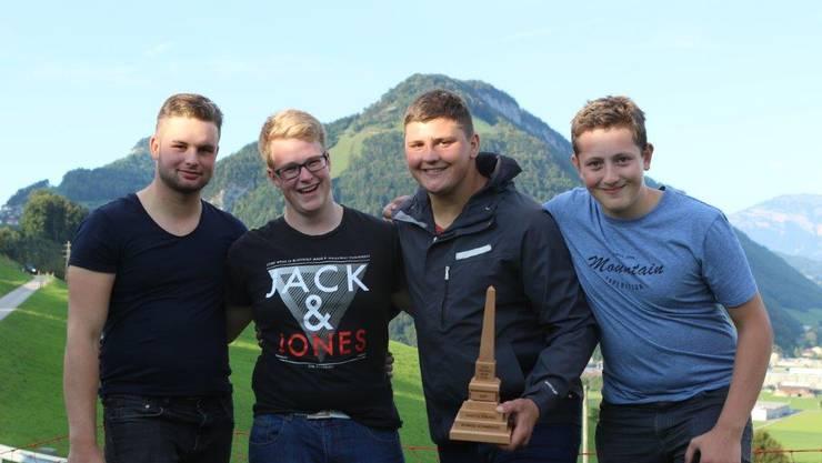 Steger, Graber, Alpiger, Meyer