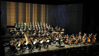 Das Neujahrskonzert 2012 mit dem Sinfonieorchester im Theater Basel.