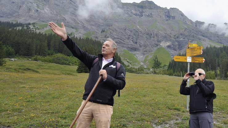 Alt Bundesrat Adolf Ogi ist als naturverbunden bekannt. Am Dienstag, 18. Juli, feiert Ogi seinen 75. Geburtstag. (Archivbild)