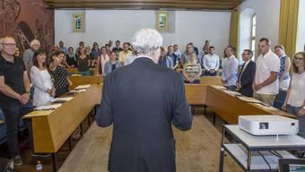 Vereidigung Gemeinderat Solothurn Legislatur 2017-2021
