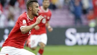 Schweiz gegen Zypern in Genf.