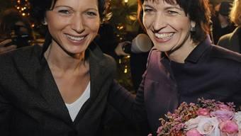 Aargauer Präsidentinnen: Burderer und Leuthard