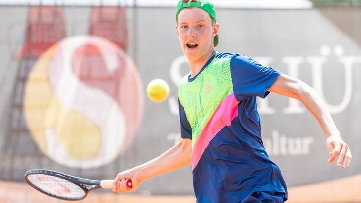Jetzt hats geklappt mit dem ersten Titel: Lenzburger Janis Simmen feiert seinen ersten Meistertitel im Nachwuchs