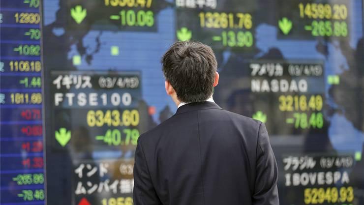 Viele Krisen beginnen an den internationalen Börsen.