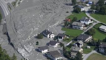 Am 23. August 2017 ereignete sich am Piz Cengalo im Bergell einer der grössten Bergstürze der Schweiz in der jüngeren Zeit. Bondo wurde von anschliessenden Murgängen schwer getroffen. (Archivbild)