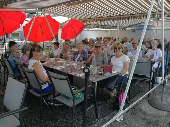 Mittagessen am Bodensee