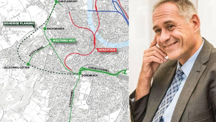 Schon wieder Ärger für den Basler Verkehrsdirektor Hans-Peter Wessels