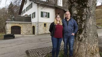 Christian Peter und Melanie Stäger werden ab morgen für die Gäste im Bergrestaurant Stierenberg da sein.
